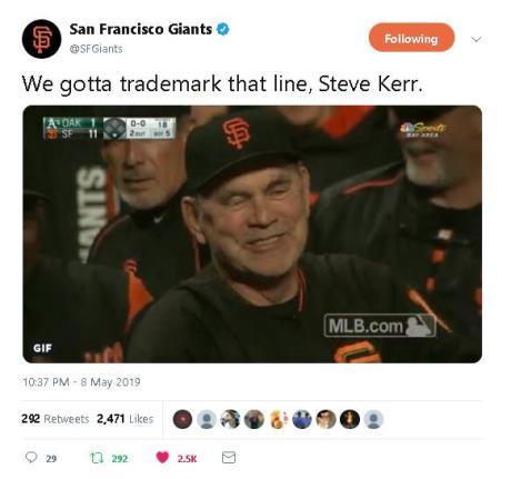 We gotta trademark that line